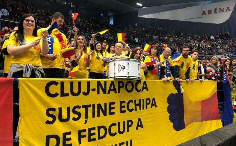 Emil Boc merge și în Franța să facă galerie echipei de Fed Cup a României!