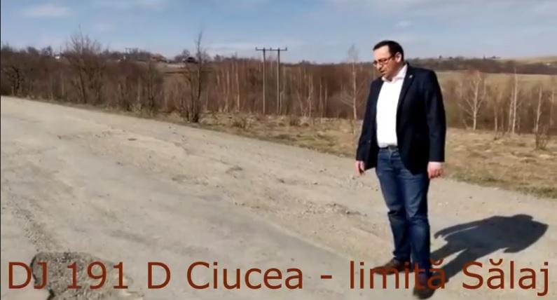 Nasra, atac la Tișe pentru nemodernizarea drumului județean DJ 109D Ciucea – Sălaj