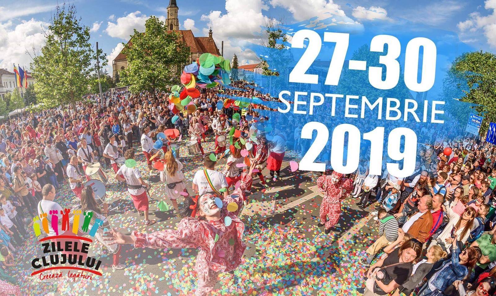 Zilele Clujului 2019, amânate pentru luna septembrie din cauza alegerilor europarlamentare din mai!