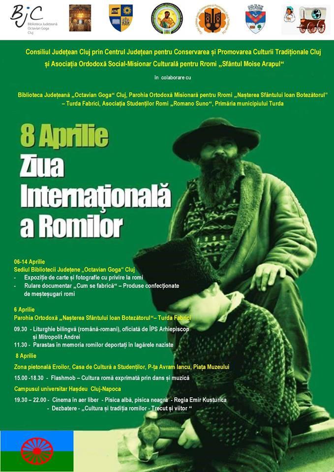 Ziua Internațională a Romilor, marcată și la Cluj pe 8 aprilie