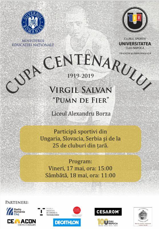 """20 de evenimente dedicate Centenarului clubului """"alb-negru"""", organizate de CS """"U"""" Cluj!"""