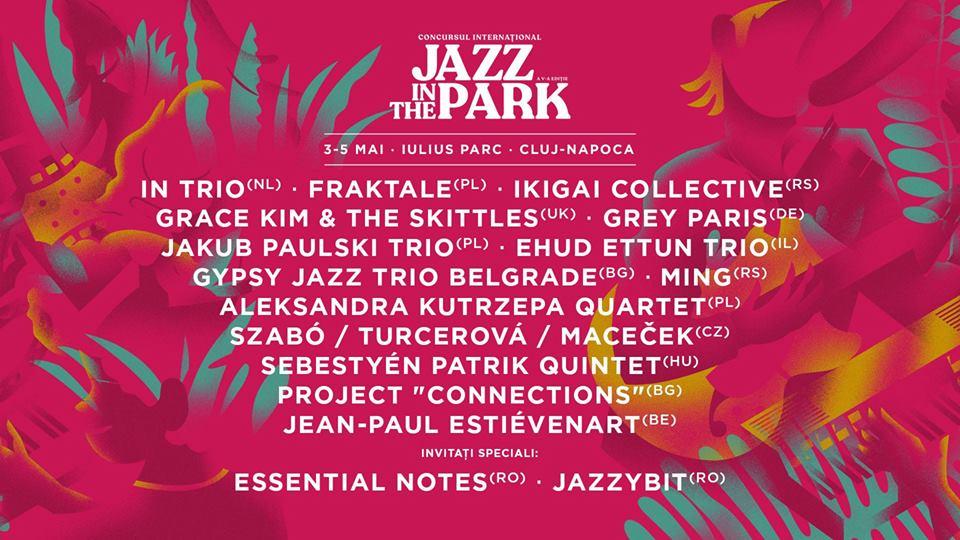 Concursul internațional Jazz in the Park, în acest weekend, în Iulius Parc!