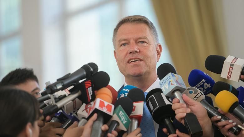 Klaus Iohannis, în Piața Universității. Președintele își lansează candidatura pentru un nou mandat la Cotroceni