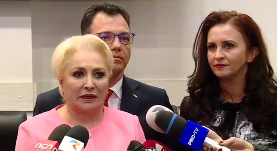 """Dăncilă, după investirea noului Guvern Orban: E o zi neagră pentru democrație. Iohannis e un președinte dictator și abuziv. PSD intră în opoziție"""""""
