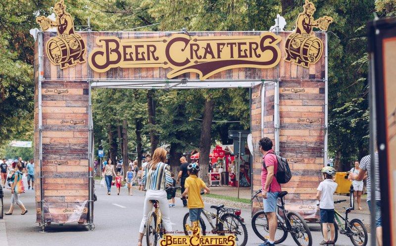 """Festivalul berii artizanale """"Beer Crafters"""" închide circulația pe Aleea Stadionului"""