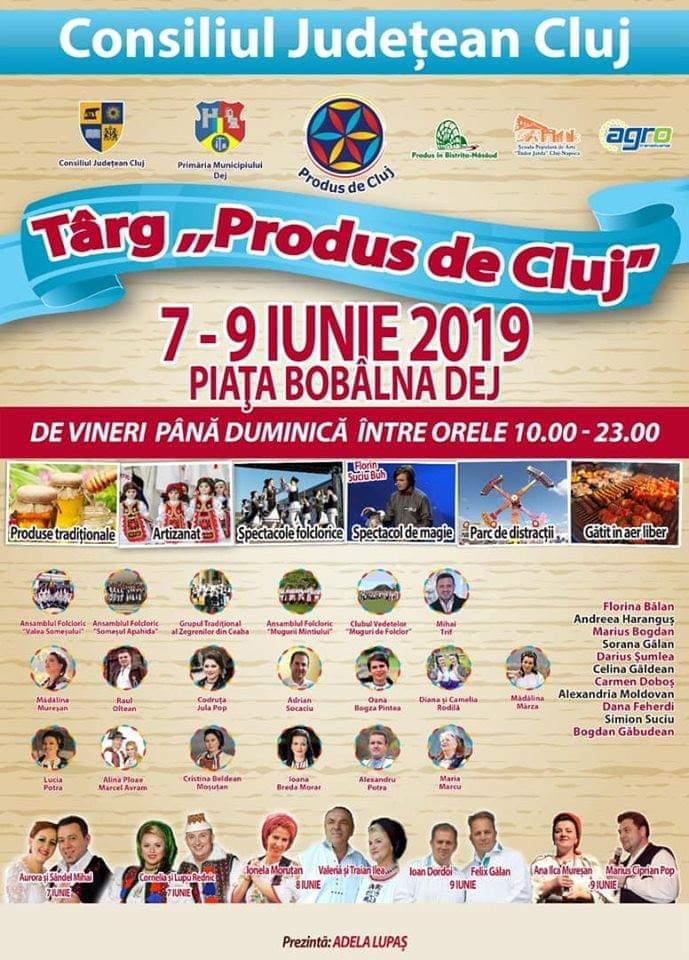 Târgul Produs de Cluj ajunge la Dej în acest weekend