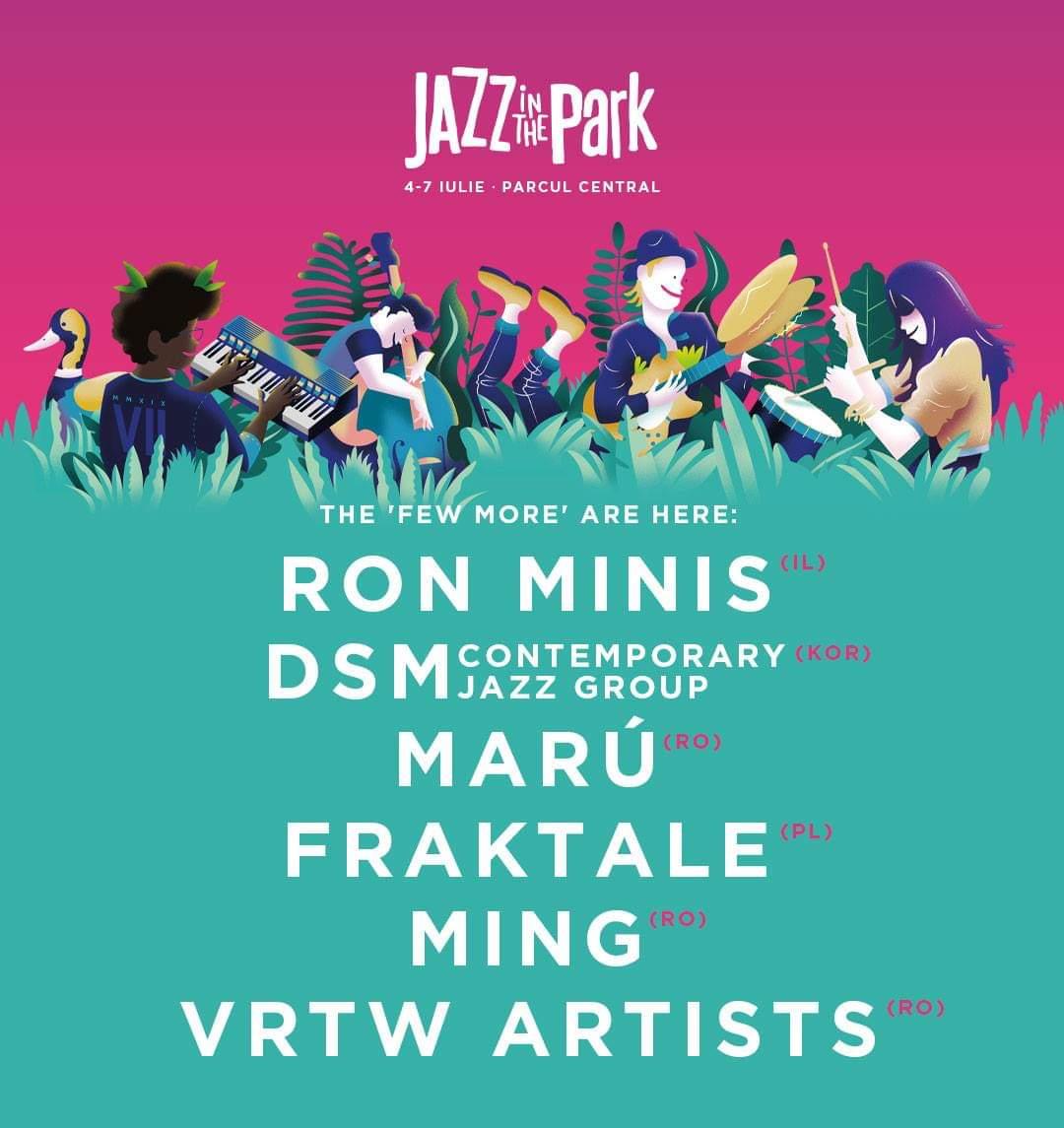 Jazz in the Park a anunțat încă 12 artiști noi care completează line-up-ul final!