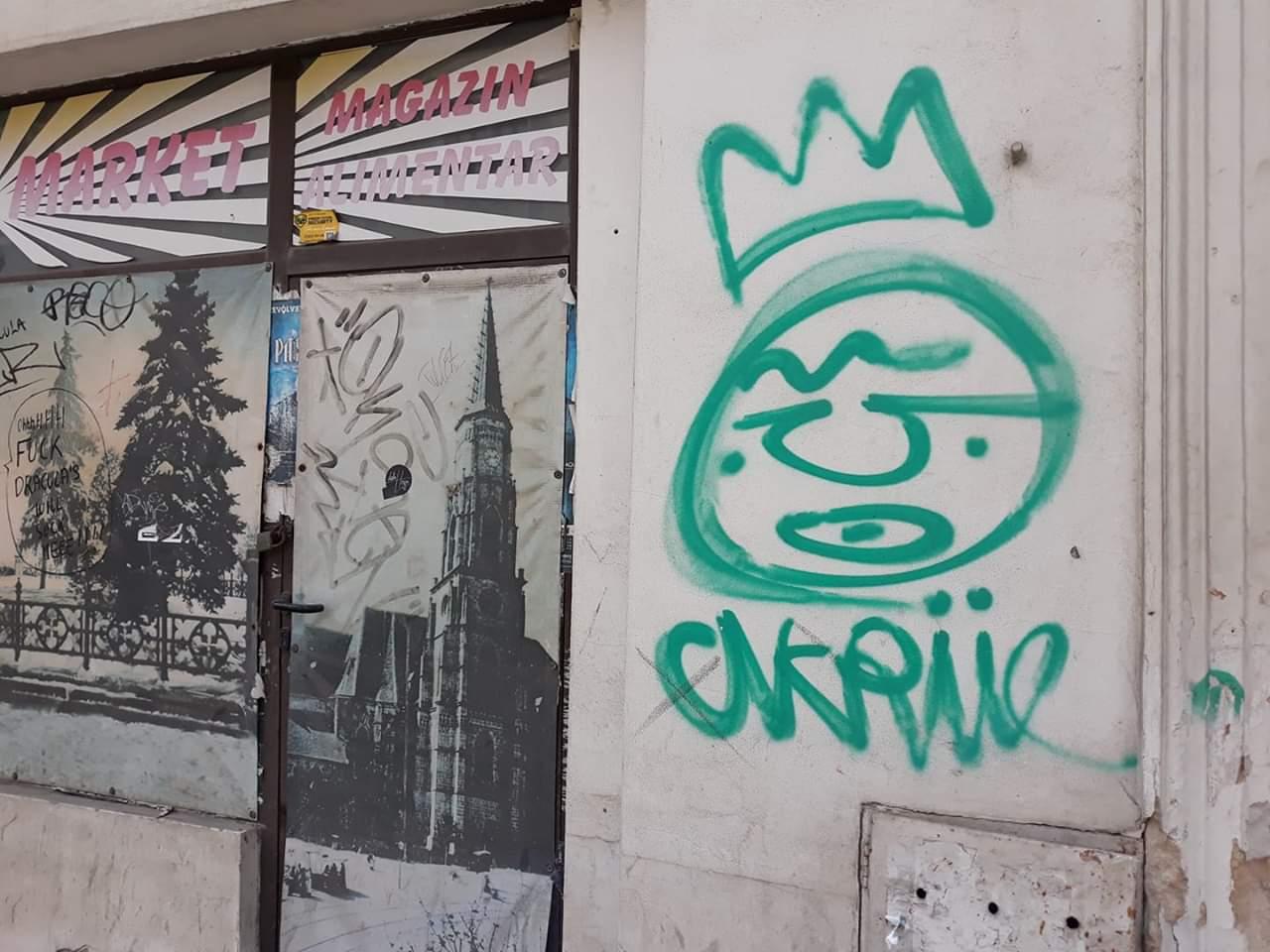Primăria Cluj declară război grafitti-urilor ilegale din oraș punând la bătaie 50.000 de euro