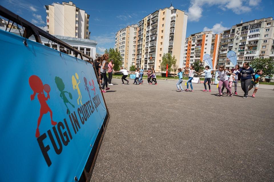 """Proiectul """"Fugi în curtea școlii"""" a deschis din nou porțile școlilor clujene cu activități sportive"""