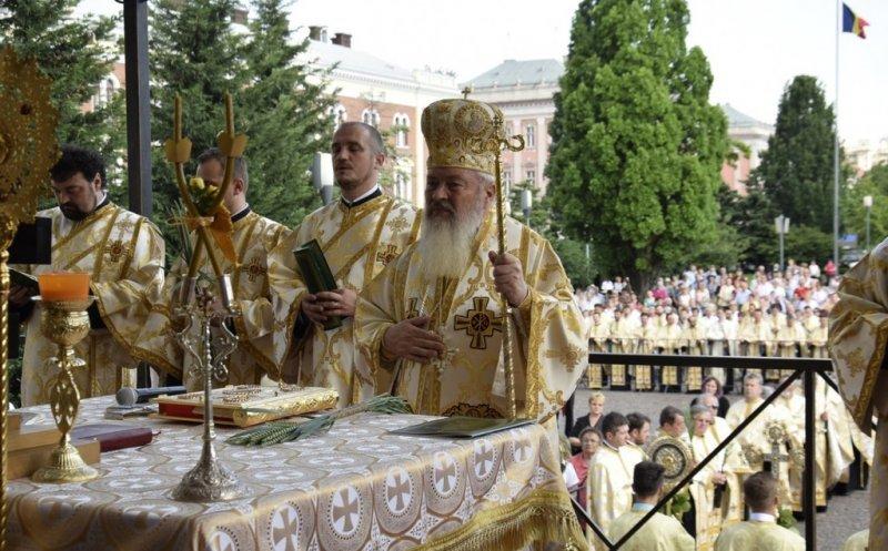 Procesiune de Rusalii, duminică, în centrul Clujului!