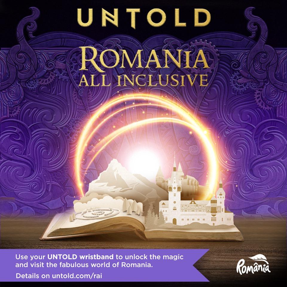 """""""ROMÂNIA ALL INCLUSIVE"""" – campania care deschide porțile României zecilor de mii de turiști străini ce ajung la UNTOLD și Neversea"""