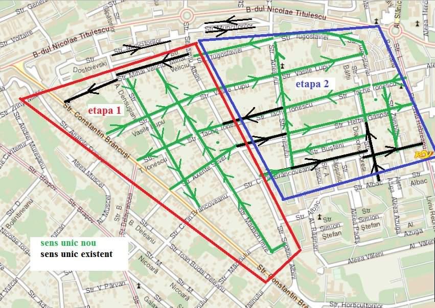 Apar noi sensuri unice de circulație în cartierul Gheorgheni
