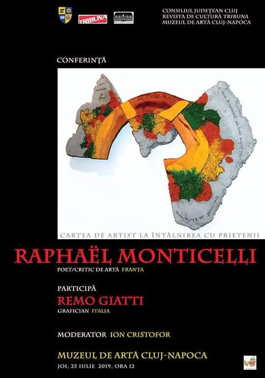 Conferință susținută de celebrul Raphaël Monticelli, la Muzeul de Artă
