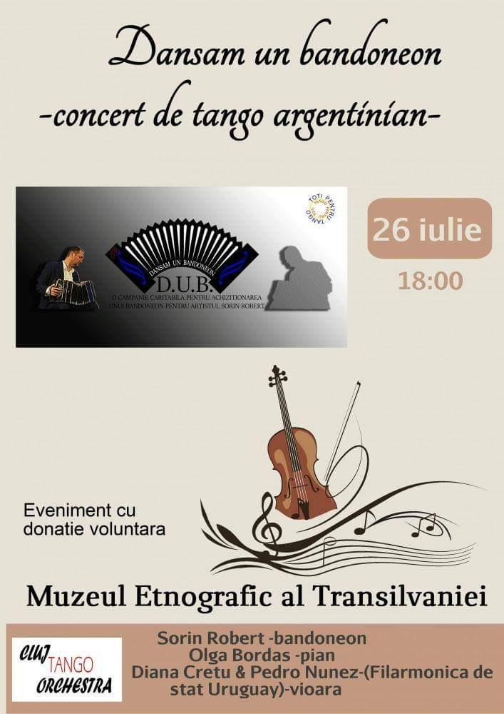 Concert de tango argentinian la Muzeul Etnografic al Transilvaniei