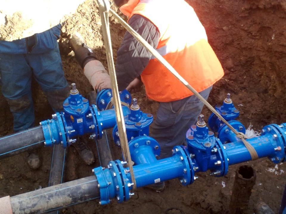 Comuna clujeană Cuzdrioara beneficiază de o rețea nouă de distribuție a apei potabile și canalizare