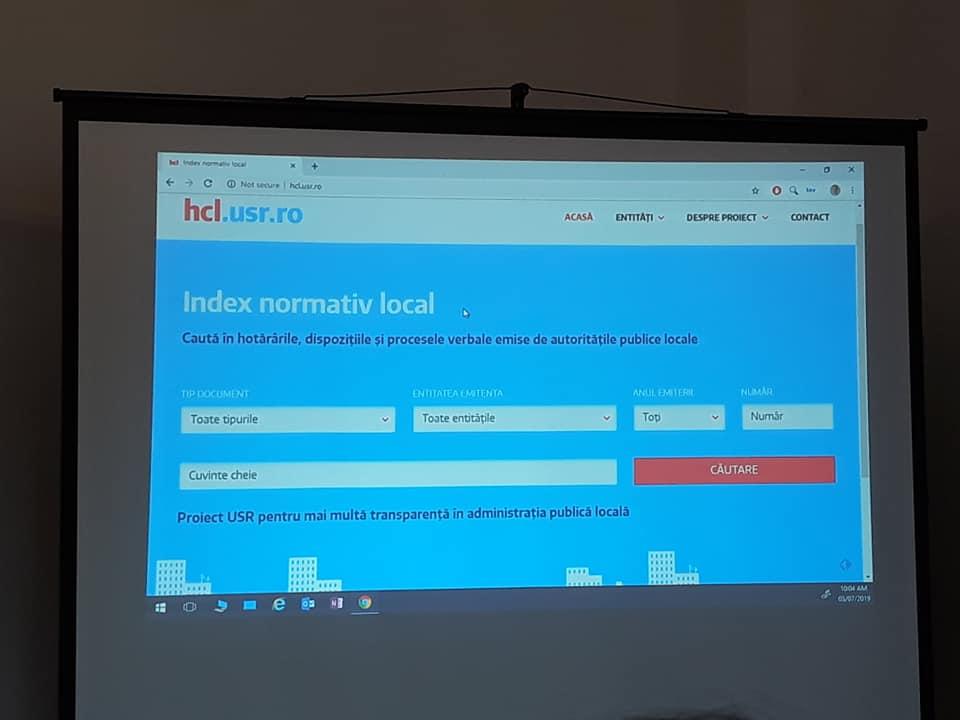 Lecție de digitalizare smart pentru administraţia locală de la USR Cluj-Napoca: platforma online cu  toate HCL-urile din 1992 până în prezent!