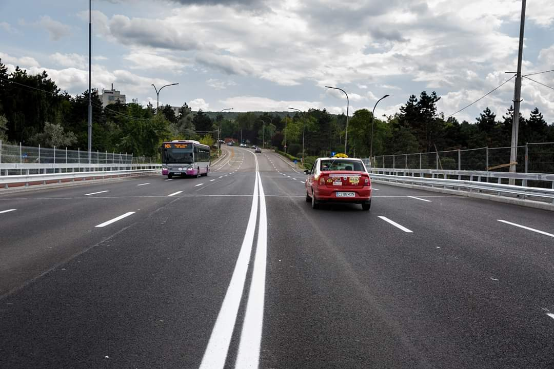 """S-a redeschis circulația pe Podul """"N"""" din Mănăștur!"""