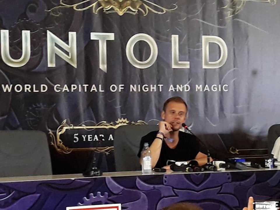 """Armin van Buuren promite o noapte de neuitat și un show unic în lume la UNTOLD 2019: """"Sper să rezistați"""""""