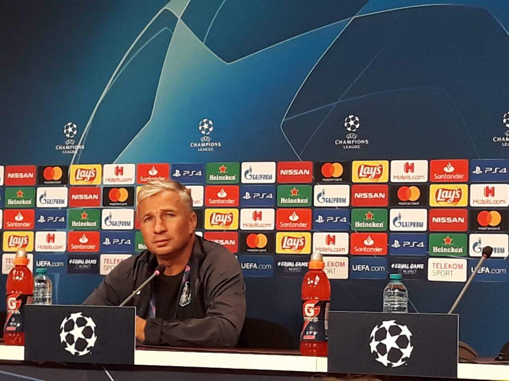 """Dan Petrescu, nemulțumit de înfrângerea cu Slavia: """"Au câștigat fără a avea vreo ocazie. Ei sunt favoriți la calificare, dar mergem la Praga să ne jucăm șansa"""""""