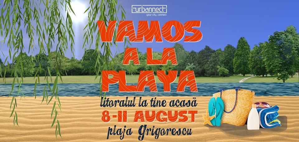 """Ediția cincinală """"VAMOS a la Playa"""" readuce spiritul din Vama Veche pe plaja din Grigorescu!"""