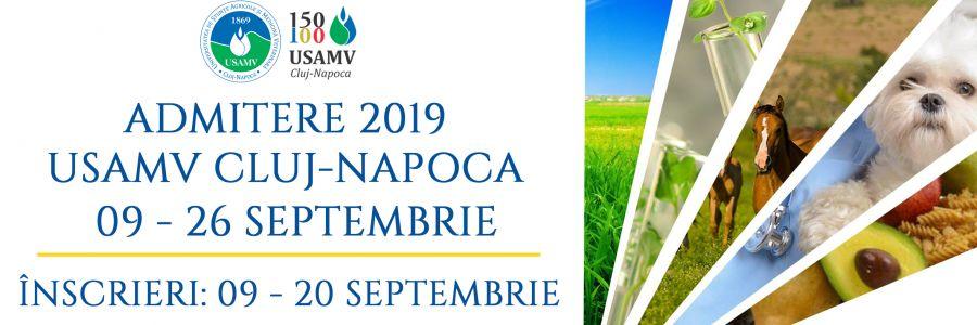 USAMV Cluj-Napoca scoate la concurs 552 de locuri la nivel de licență în sesiunea de toamnă
