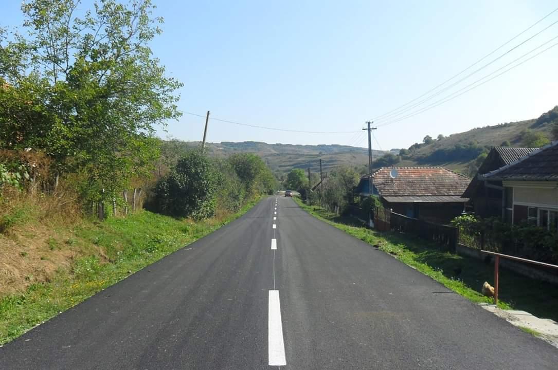 Consiliul Județean a finalizat lucrările de asfaltare pe drumul județean 161K (DN 16) – Bărăi – Sava – Mureşenii de Câmpie
