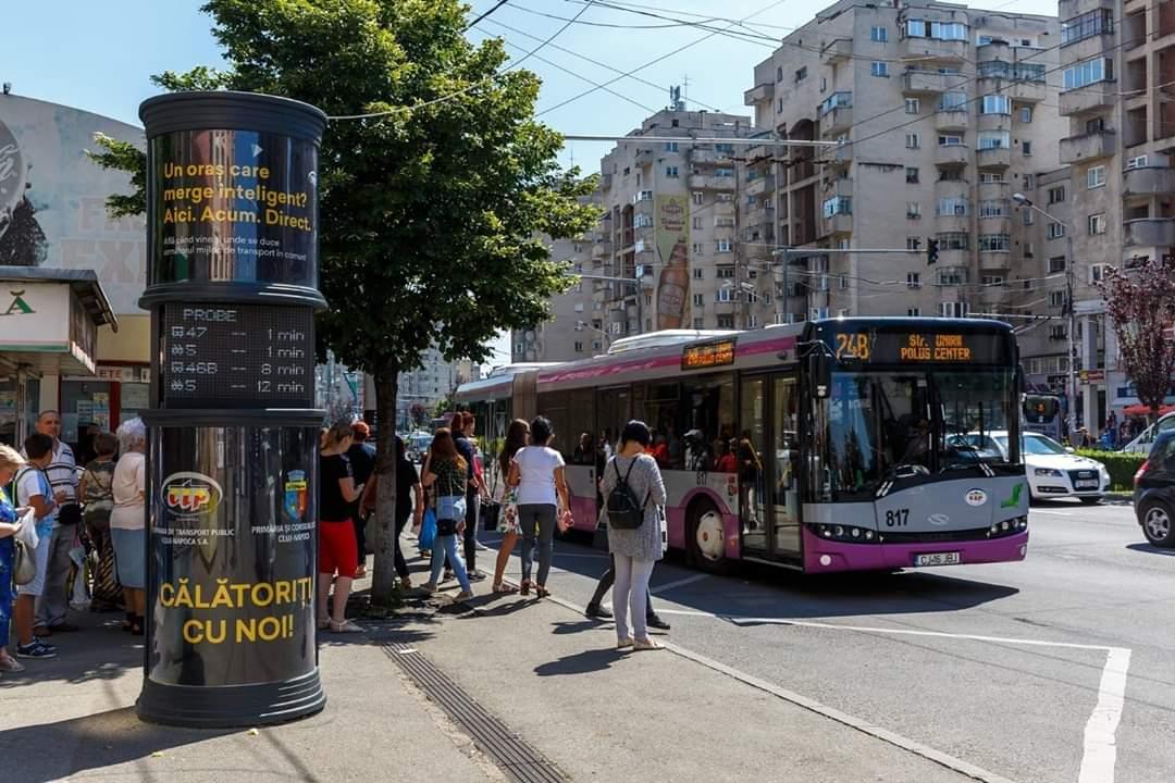 Apar trei linii noi de transport în comun la Cluj-Napoca