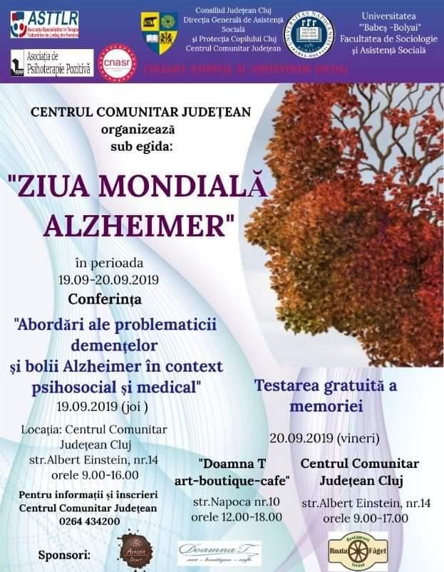 Ziua Mondială Alzheimer, marcată la Cluj