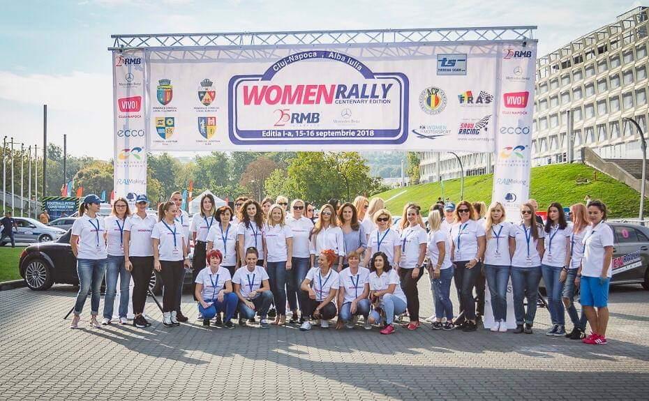 Peste 100 de concurente, înscrise în acest an la Women Rally din Cluj-Napoca