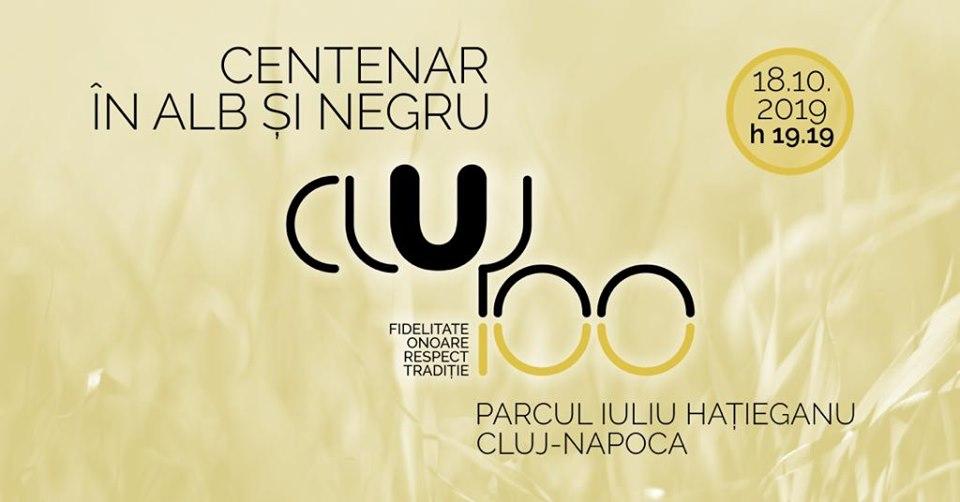 """Eveniment special și UNIC dedicat Centenarului clubului """"U"""" Cluj, pe 18 octombrie, în Parcul Sportiv """"Iuliu Hațieganu"""""""