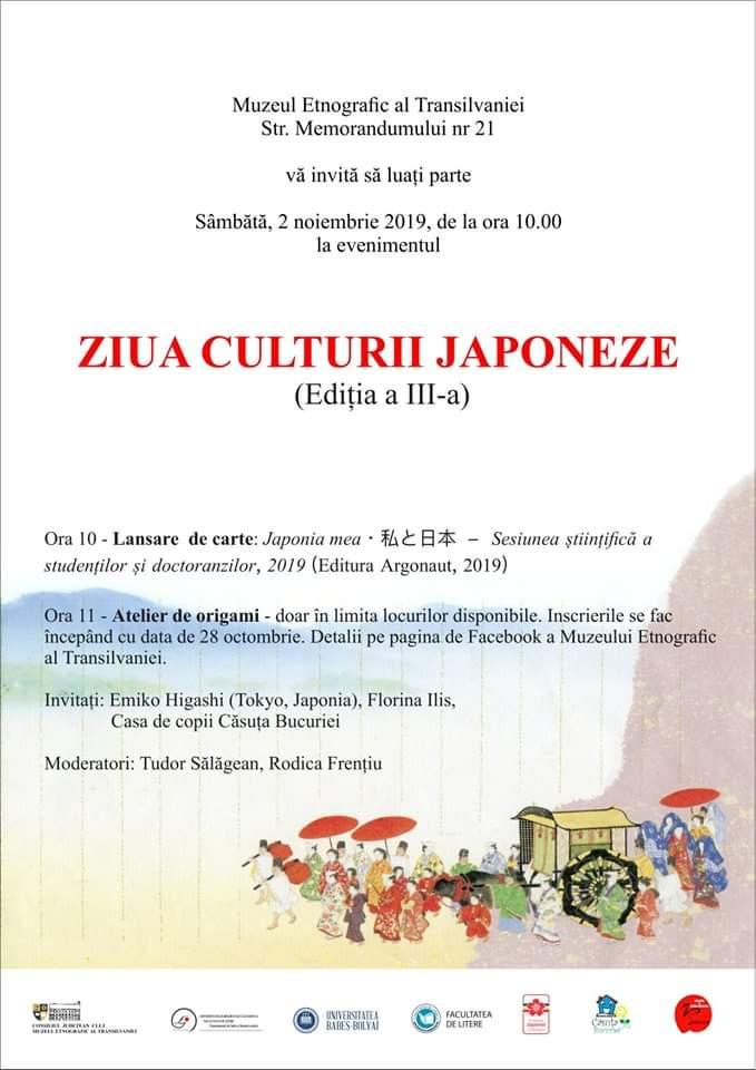 Ziua Culturii Japoneze celebrată la Muzeul Etnografic al Transilvaniei