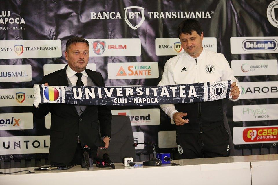 """Fost conducător al CFR-ului, Daniel Stanciu, noul director general al lui """"U"""" Cluj. """"Obiectivul echipei este salvarea de la retrogradare. Universitatea este echipa fanion a oraşului"""""""