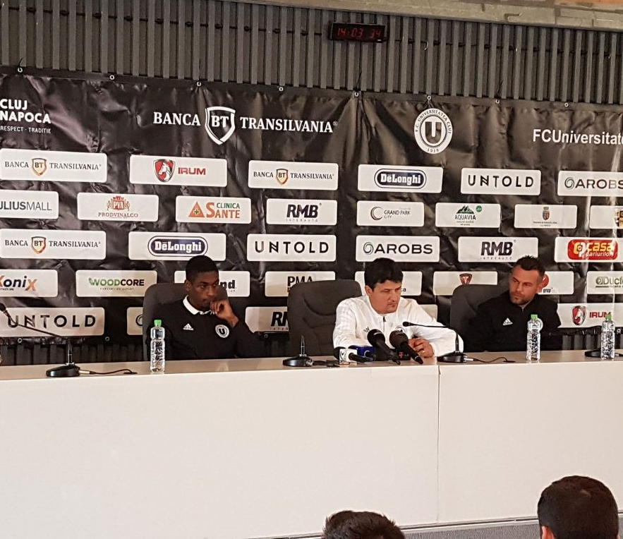 """""""U"""" Cluj – FCSB, în optimile Cupei României! Falub: """"Va fi o partidă în care vom avea ocazia să demonstrăm că suntem o echipă care îşi doreşte mai mult"""""""