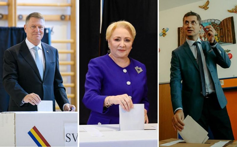 Klaus Iohannis, victorie detașată în turul 1 al prezidențialelor! Viorica Dăncilă, locul 2, iar Dan Barna pe 3