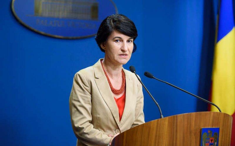 """Ministrul Muncii, Violeta Alexandru, dă asigurări: """"Nu vom tăia pensii, nu vom tăia salarii. Să terminăm cu manipulările"""""""