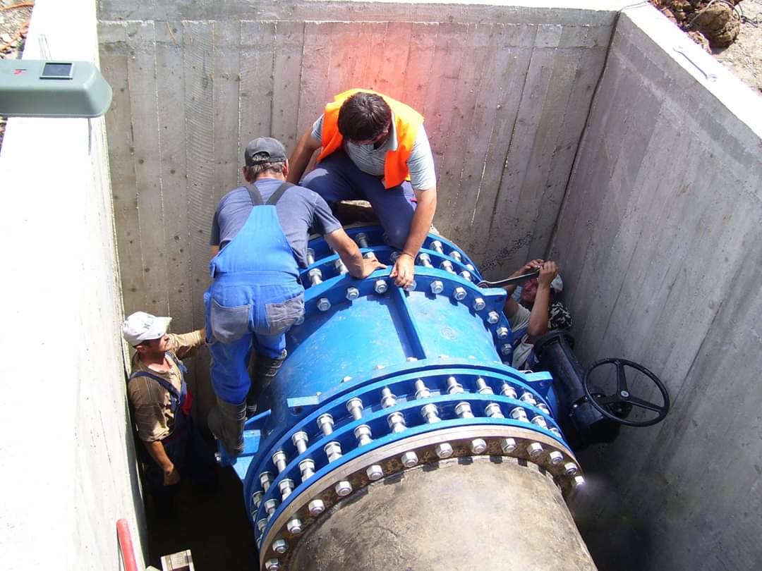 Rețelele de alimentare cu apă și canalizare din patru comune din Gherla vor fi extinse și reabilitate