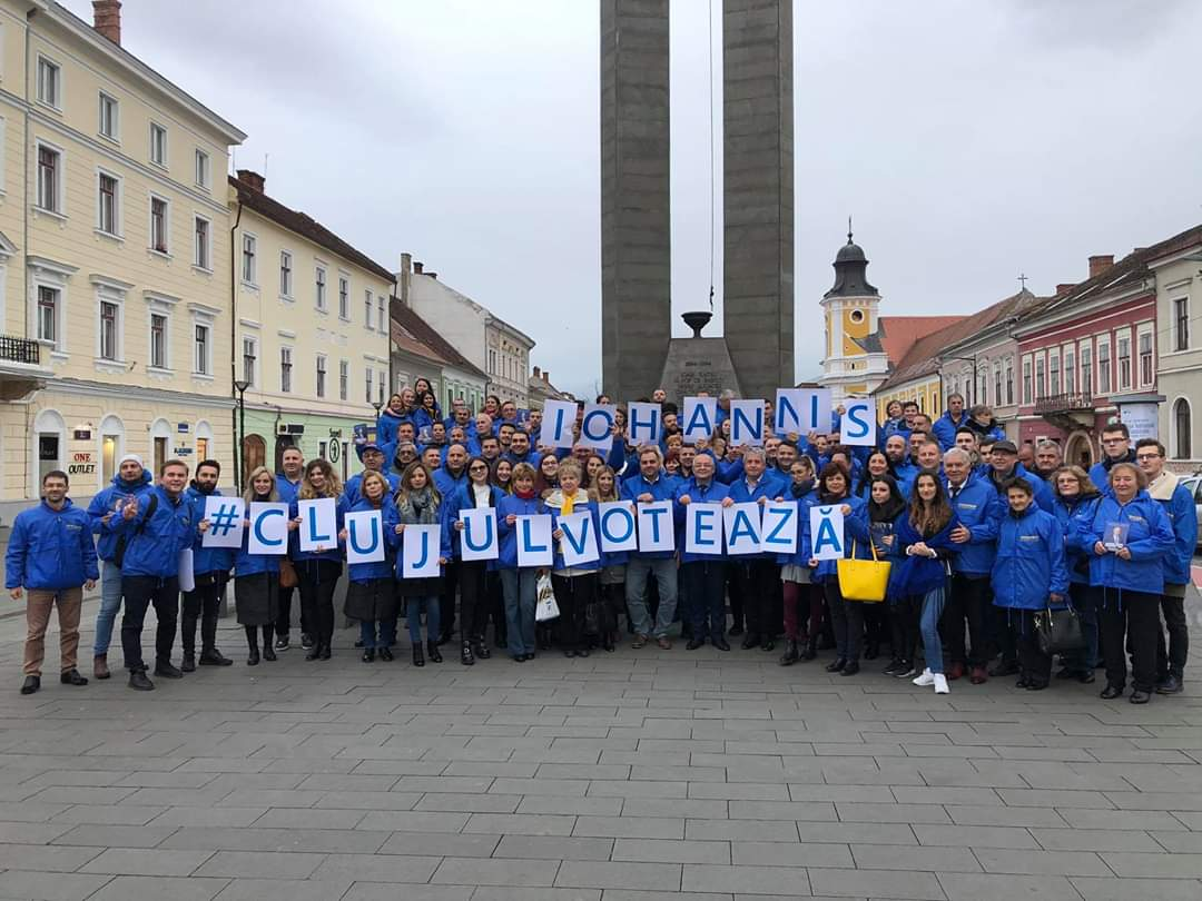 Diferențe. PNL Cluj  a umilit PSD Cluj în campania electorală pentru alegerile prezidențiale – FOTO