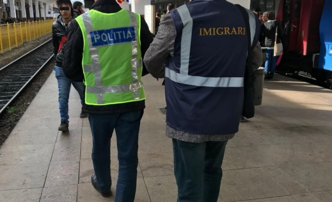 13 imigranți au fost prinși la Cluj-Napoca! Mulți dintre ei erau din Africa
