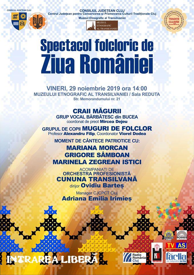 Ziua Națională a României, marcată cu un program special la Muzeul Etnografic al Transilvaniei
