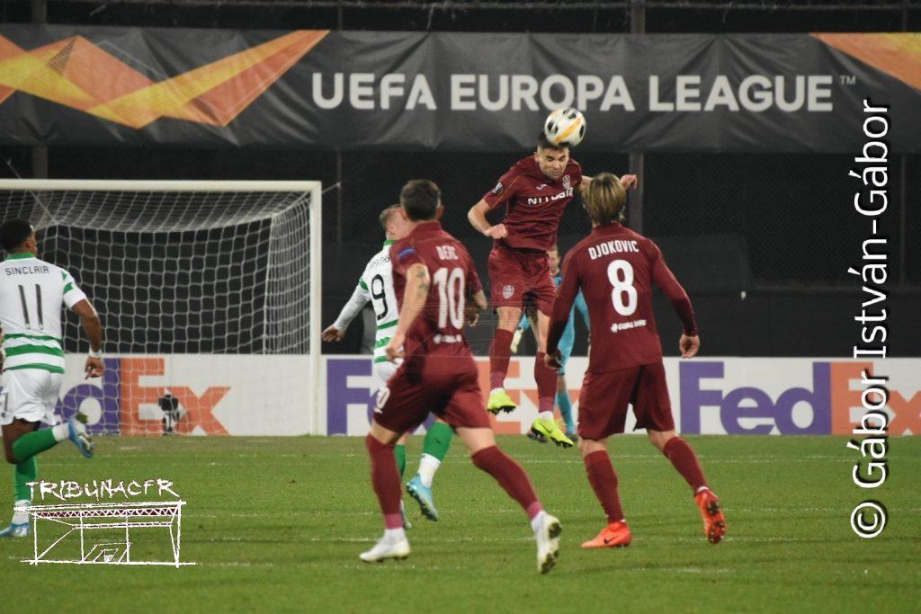 Joia magică în Gruia. CFR Cluj a învins Celtic cu 2-0 și s-a calificat în primăvara europeană