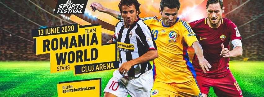 Legendarul Alessandro Del Piero vine la Cluj-Napoca pentru meciul de retragere a lui Adrian Mutu, la Sports Festival 2020