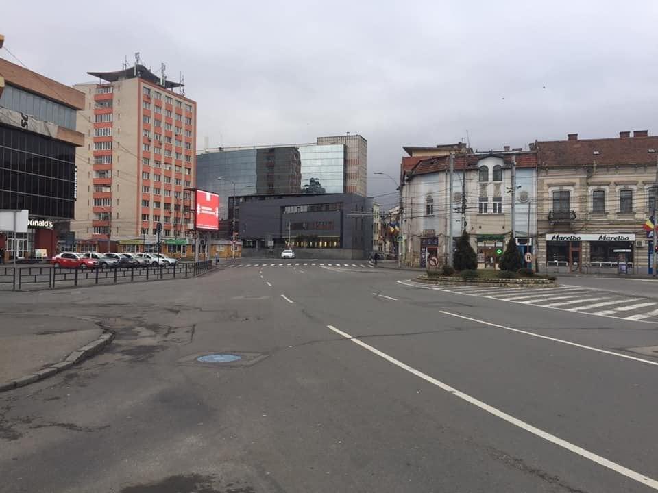 Cluj-Napoca, oraș pustiu de sărbători! Vă place așa? FOTO