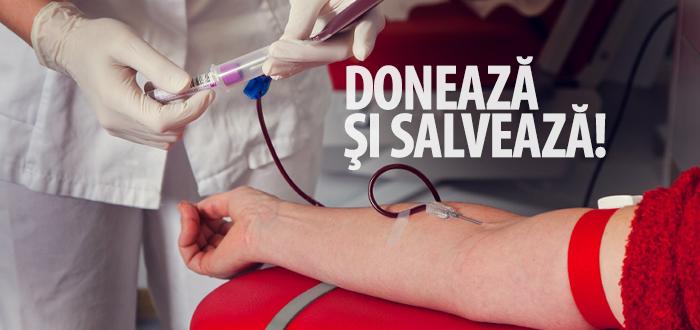 Donează sânge, fii erou! Campanie de donare organizată de studenții mediciniști