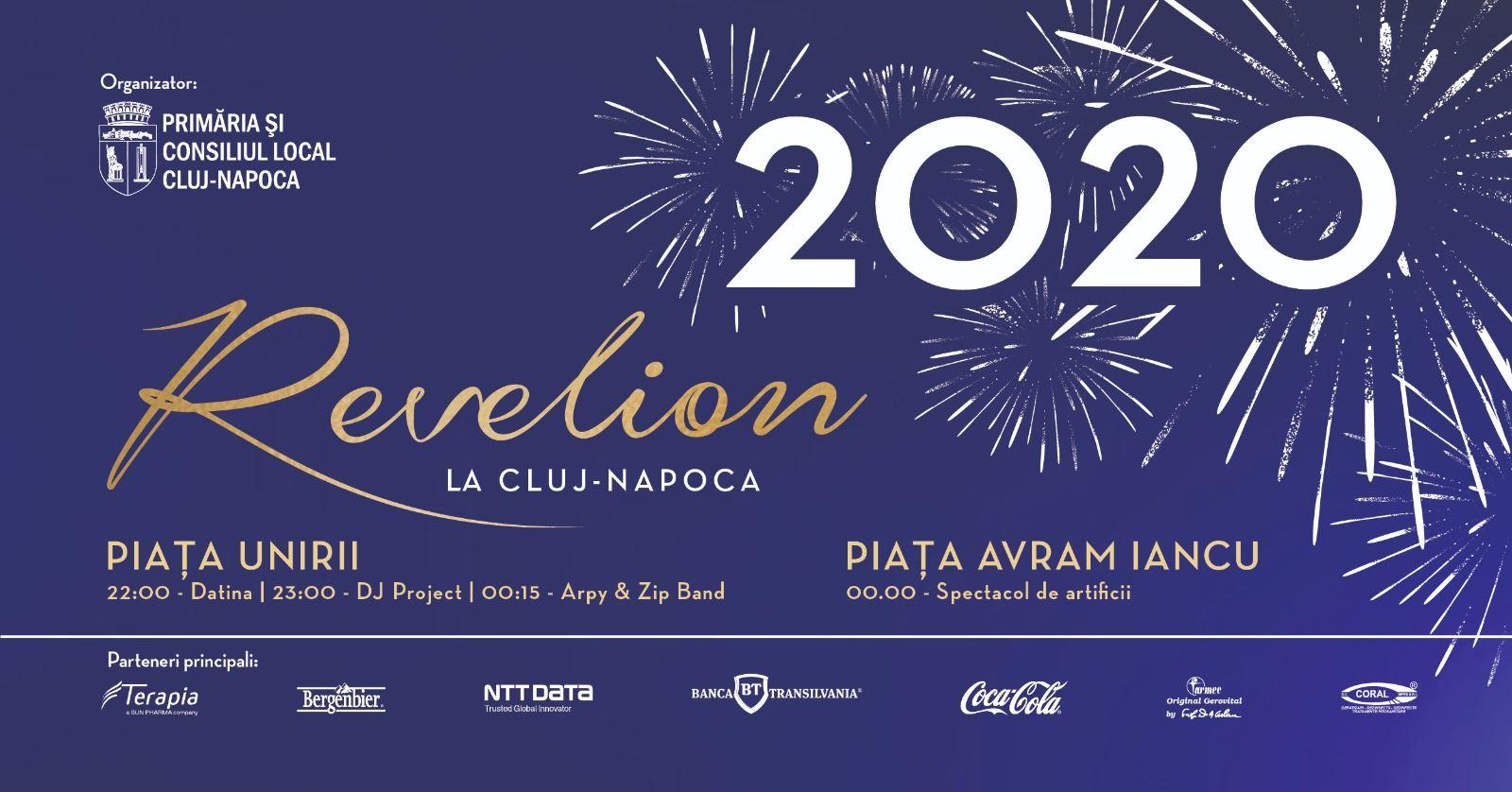 PROGRAM DE REVELION 2020 în centrul Clujului!