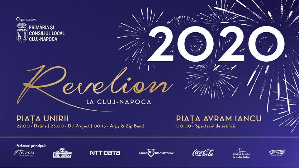 REVELION 2020. Clujenii sunt așteptați în centrul orașului cu artificii, șampanie și concerte! Intrare liberă la patinoar în ultima zi din an