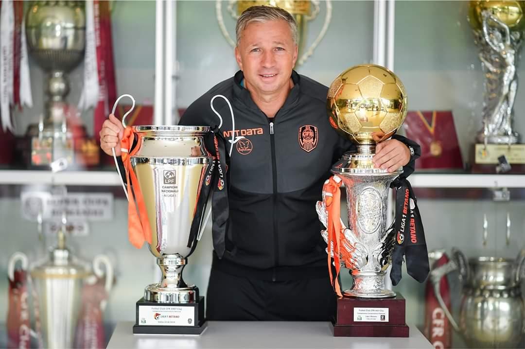 Telenovela s-a încheiat. Dan Petrescu a semnat prelungirea contractului cu CFR Cluj