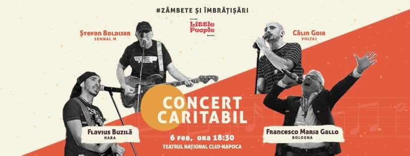 Concert caritabil dirijat de un robot, pe 6 februarie, la Teatrul Național Cluj. Toți banii adunați vor fi donați copiilor bolnavi de cancer