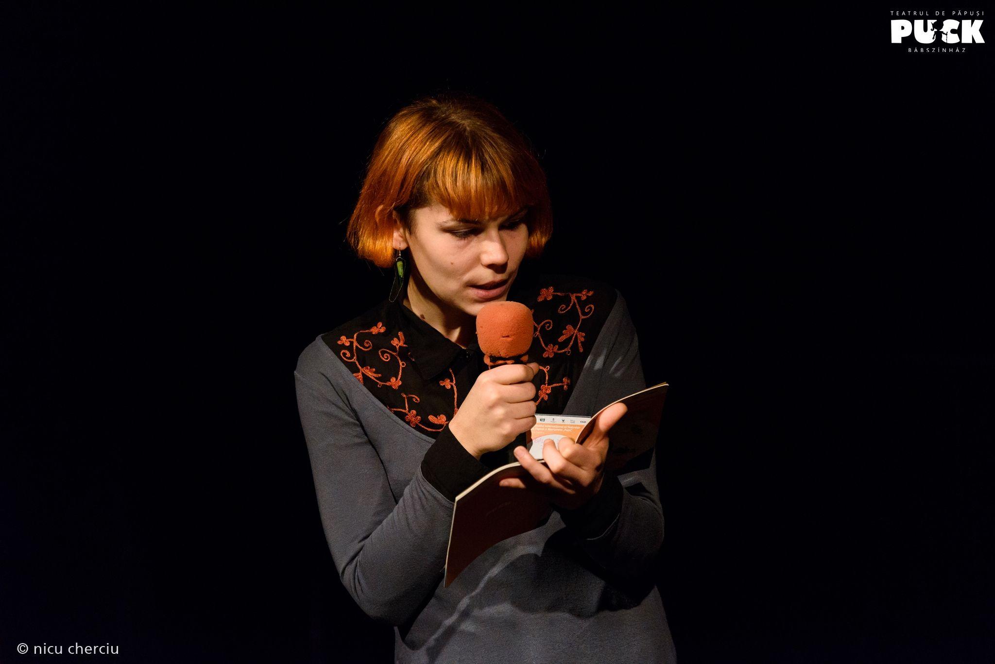 """Actorii Teatrului """"Puck"""" au marcat în școli Ziua Culturii Maghiare"""