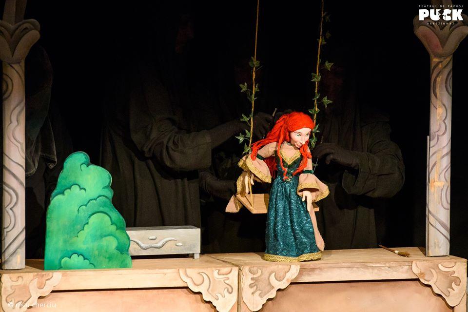 """""""Elefănțelul curios"""" și """"Frumoasa din pădurea adormită"""", spectacolele din weekend la Teatrul """"Puck"""""""