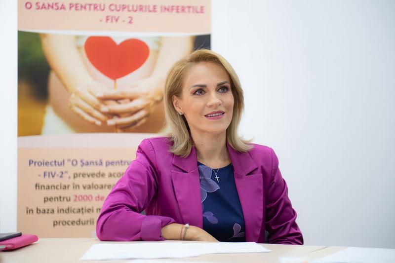 """București: Gabriela Firea anunță că va candida pentru un nou mandat: """"Sunt pregătită de luptă"""""""